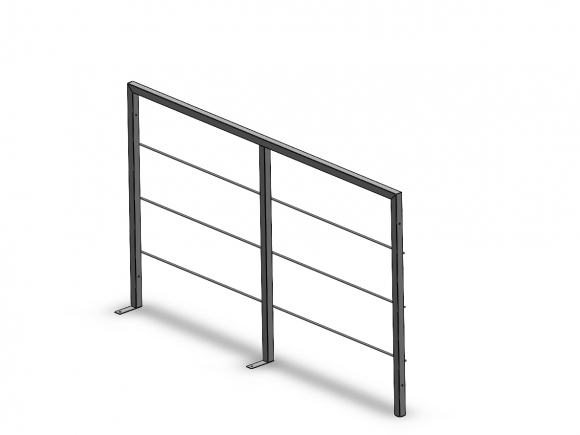 Modular railing - gate