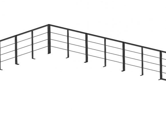 Modular railing - assembly